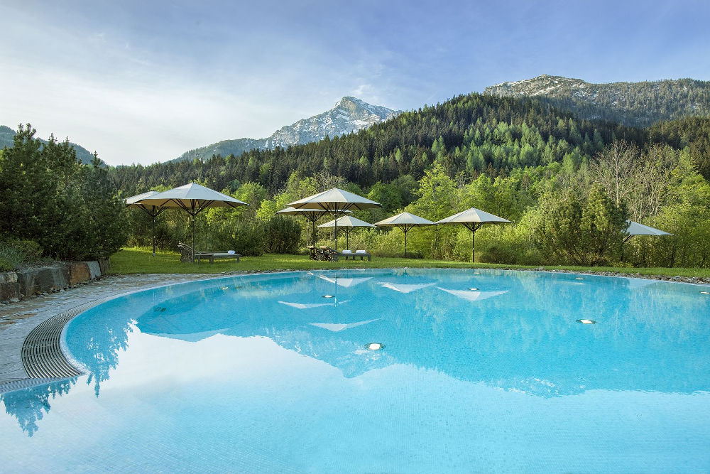 Kempinski The Spa Outdoor Pool Summer